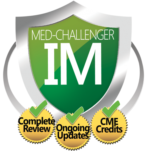 Internal Medicine Board Review, Med-Challenger IM, Complete Review, Ongoing Updates, CME Credits