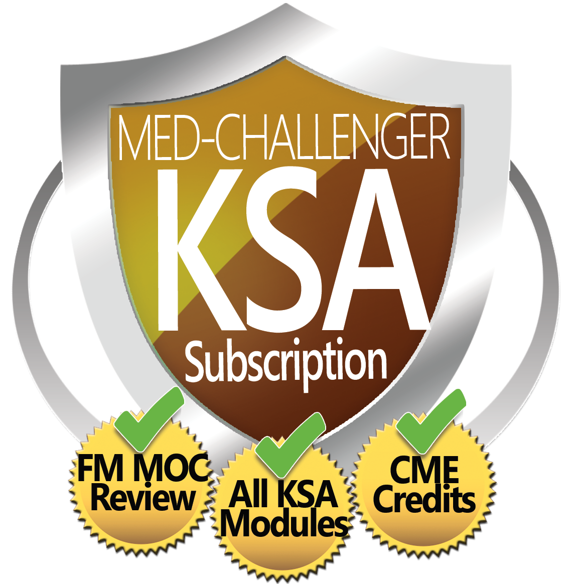 KSA Modules, online education, Med-Challenger KSA Subscription, FM MOC Review, All KSA Modules, CME Credits