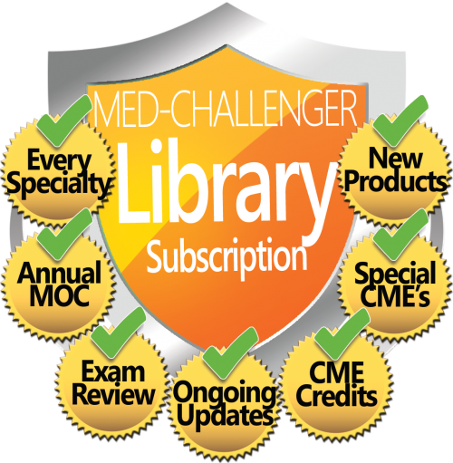 Med-Challenger Library Subscription - ultimate medical career value