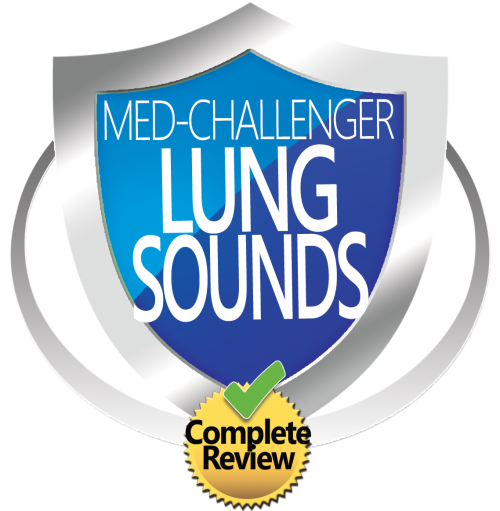 Med-Challenger, Lung Sounds Review, Pulmonary Auscultation, Auscultation Skills Review,  Best Board Review, Online Medical Education