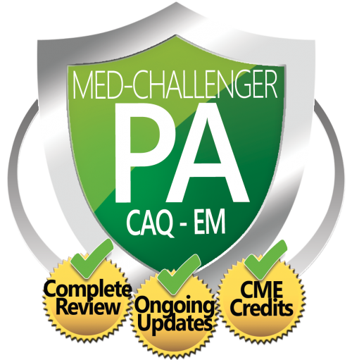physician assistant caq in emergency medicine exam review course