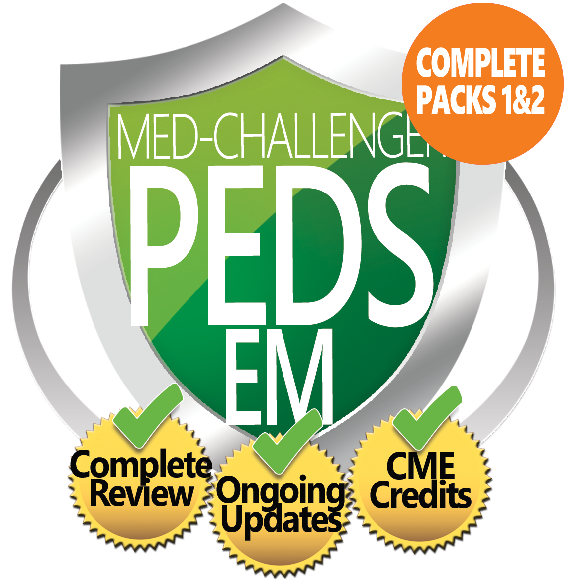 Pediatric Emergency Medicine Board Review, Med-Challenger EM Pediatrics, Complete Review, Ongoing Updates, CME Credits