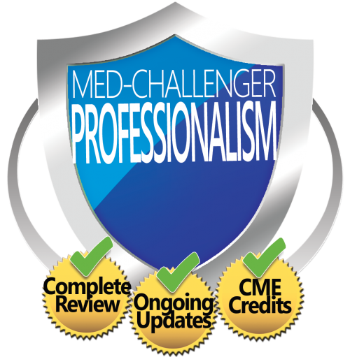 Med-Challenger, Medical Professionalism, Medical Professionalism Review, Best Board Review, Online Medical Education