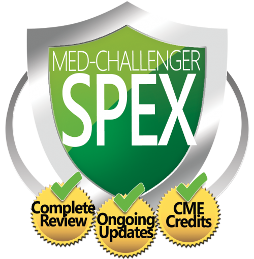 Med-Challenger SPEX - the best SPEX exam review course