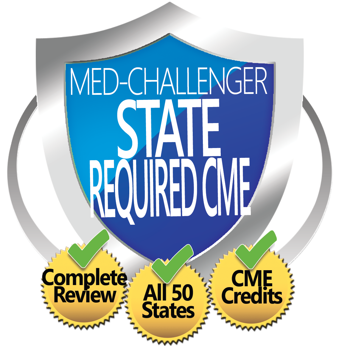 State Required CME, Med-Challenger State Required CME, Complete Review, All 50 States, CME Credits