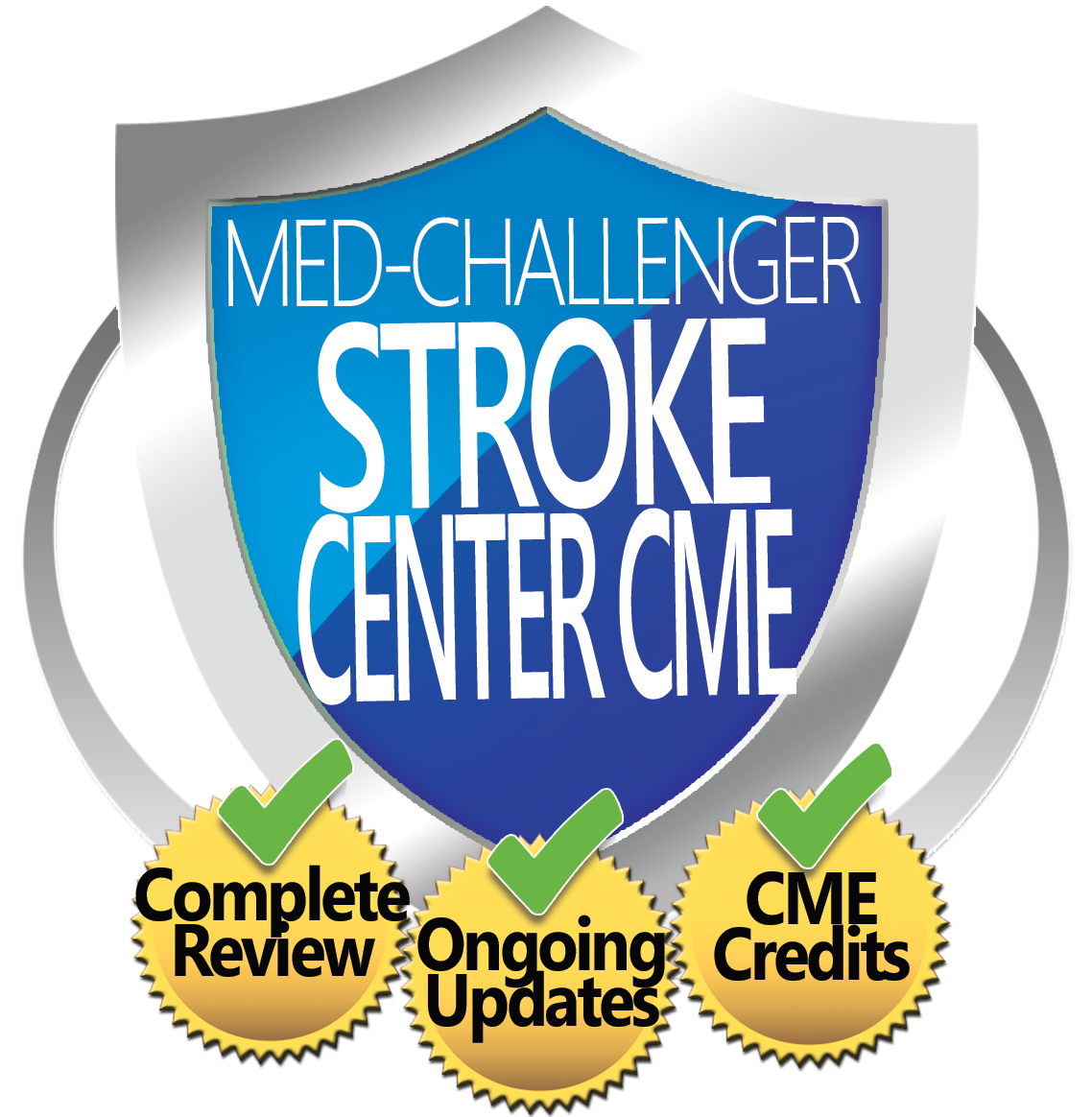 Stroke Skills Review, Med-Challenger Stroke Center CME, Complete Review, Ongoing Updates, CME Credits