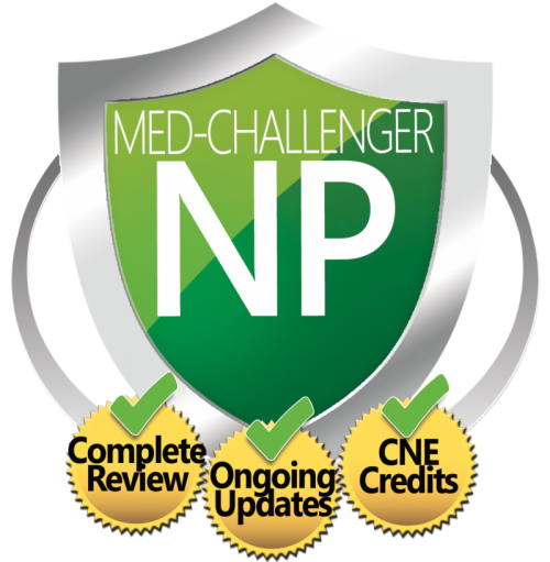 Med-Challenger NP: Exam Review with CNE Credits
