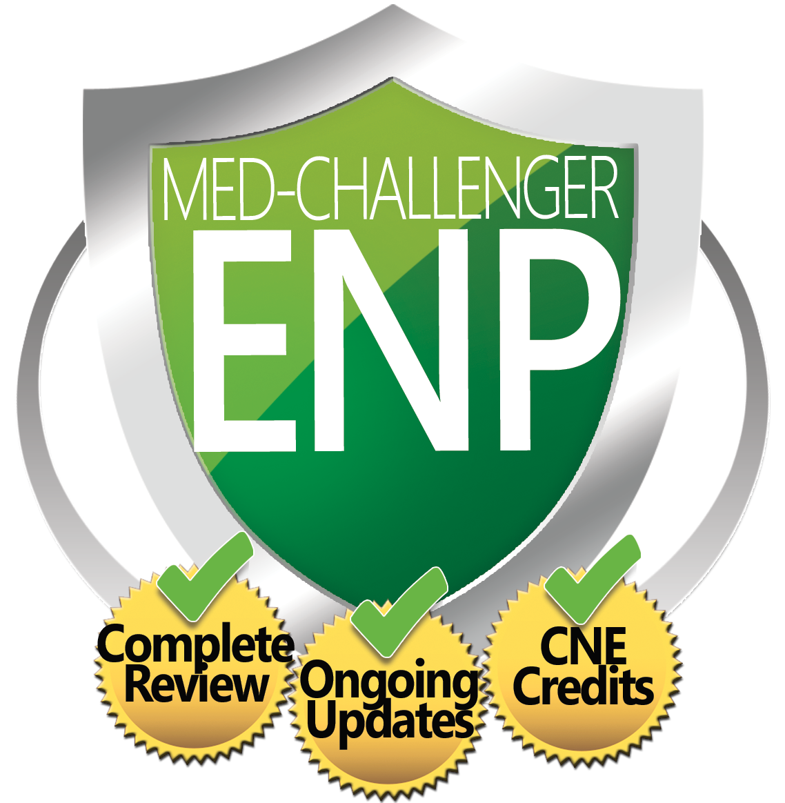 Emergency Nurse Practitioner Board Review, Med-Challenger NP, Complete Review, Ongoing Updates, CNE Credits