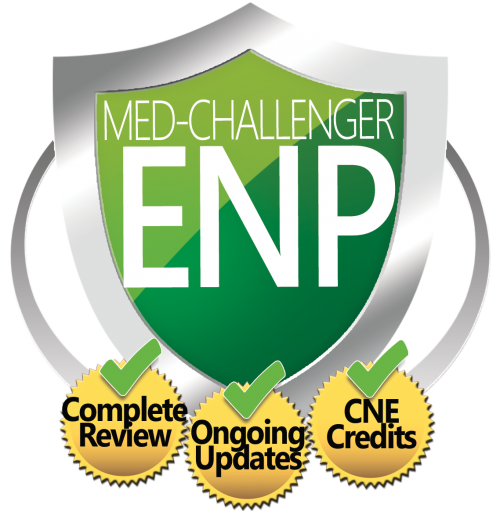 Emergency  nurse practitioner board review with CME credit