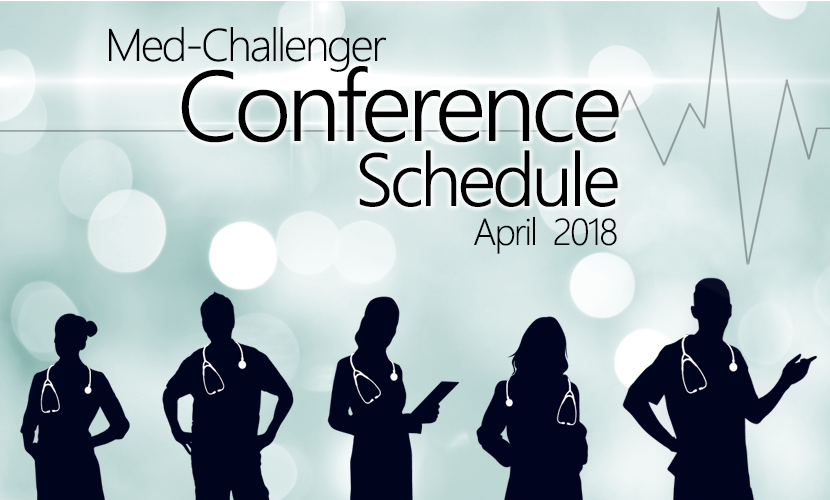 Med-Challenger Conference Schedule April 2018