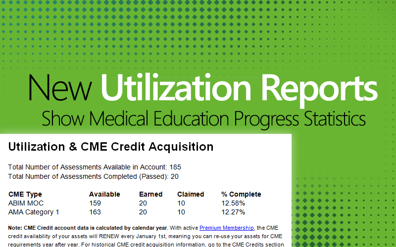 Med-Challenger, Utilization Reports, Online Medical Education, Best Board Review, Group Medical Education
