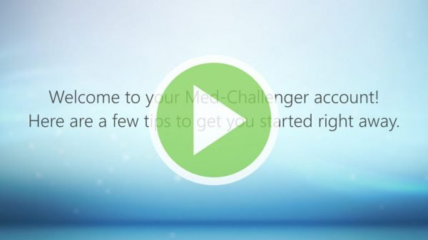 Getting Started Video for Med-Challenger Program Administrators and Group Users