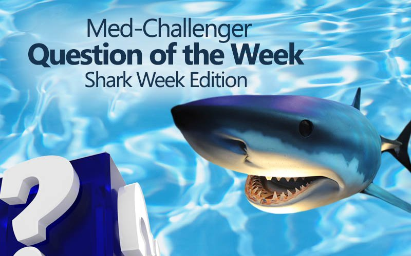 Free board review question of the week shark week edition