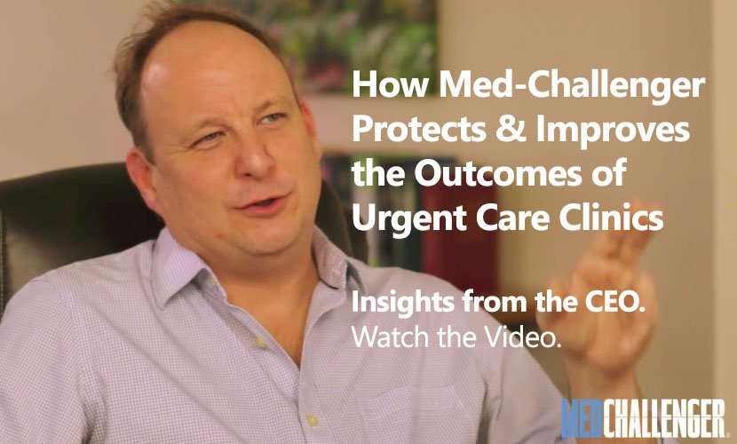 how med-challenger improves urgent care clinic quality