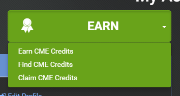 cme credits menu