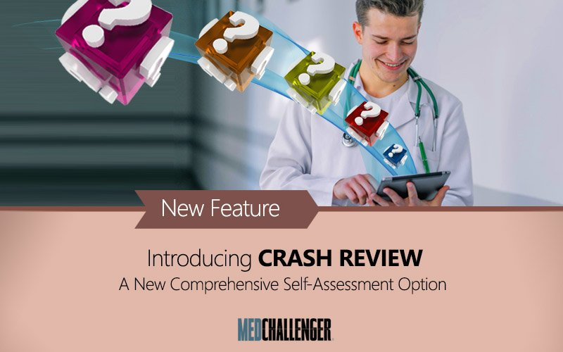 Crash exams show you unseen or unanswered questions first before any questions are repeated