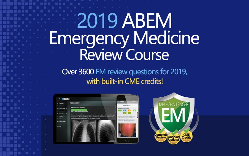 2019 emergency medicine board review course