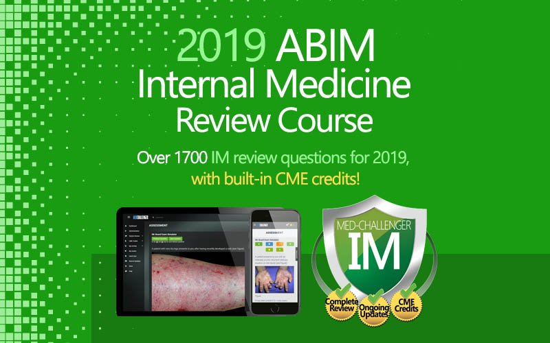 2019 ABIM internal medicine board review course