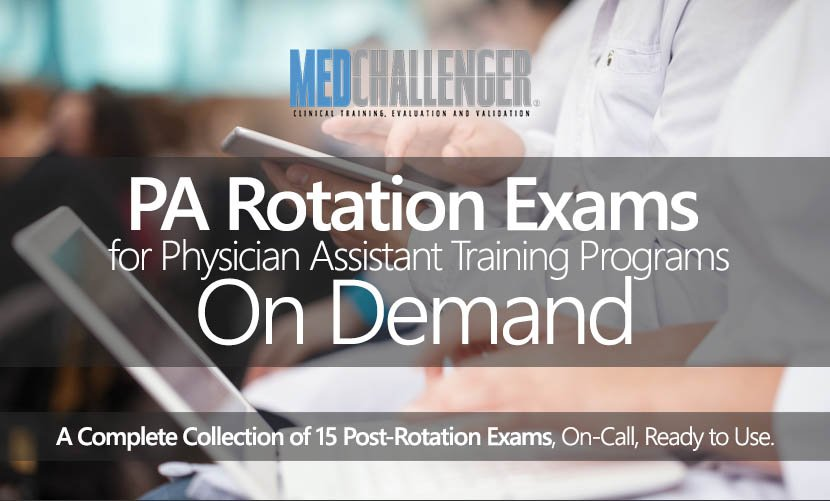 Physician Assistant PA End Of Rotation Exams EOR