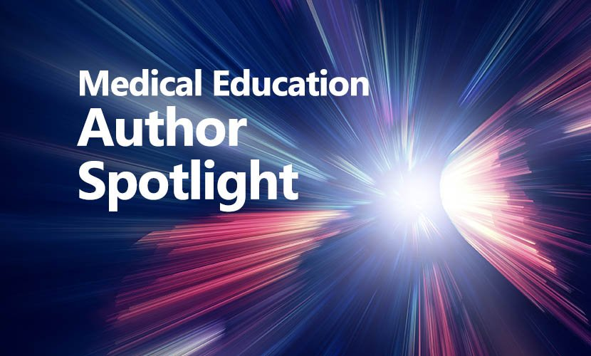 Medical Education Author Spotlight