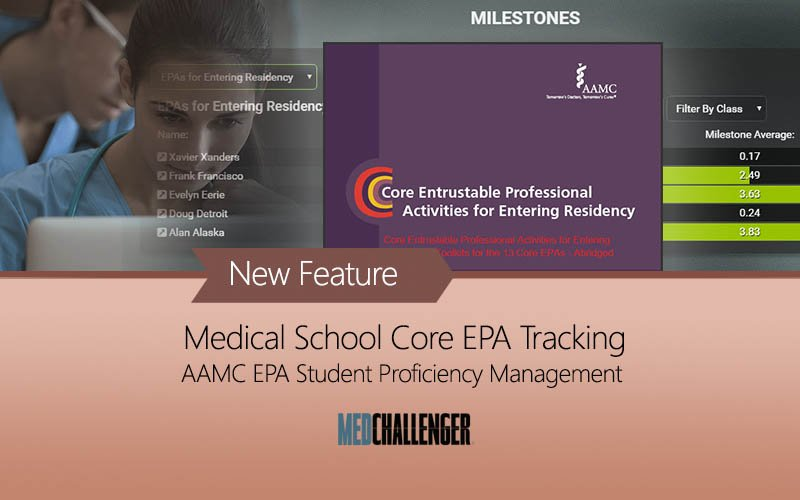 Medical Schools AAMC core EPAs Management