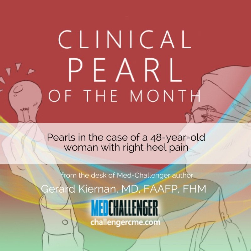 Heel pain pearl of wisdom cover