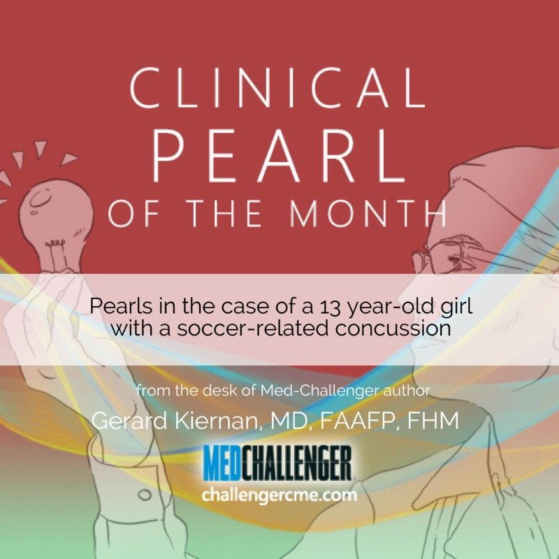 sports related concussion clinical pearls blog cover