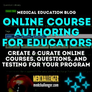 online course and question editing for schools and organizations