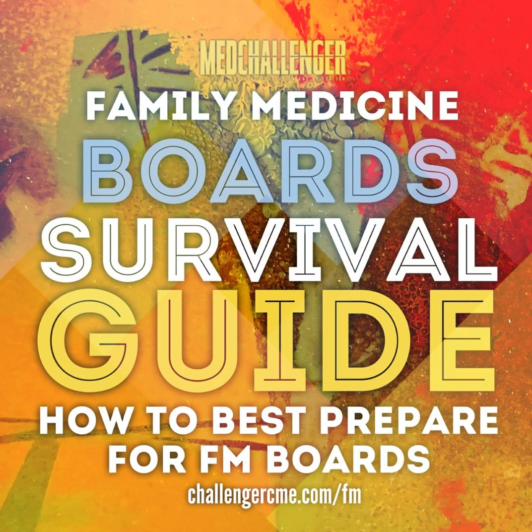 how to prepare for family medicine board certification exam
