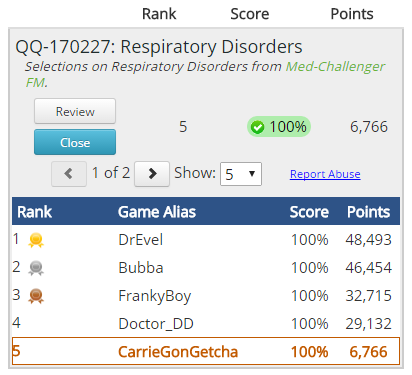 free cme quick quiz user guide leaderboard