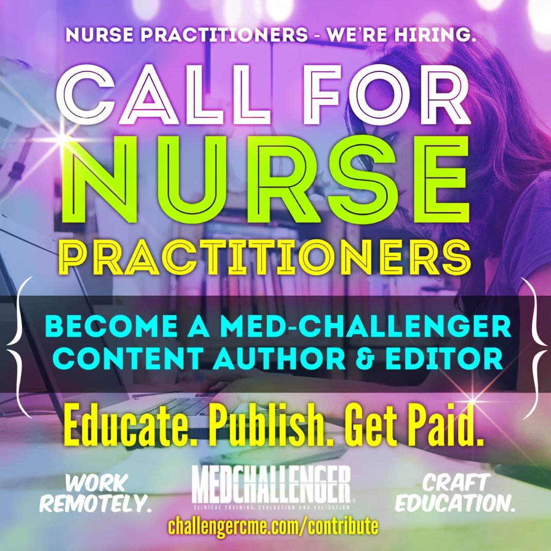 Nurse practitioner jobs - freelance medical writer and editor