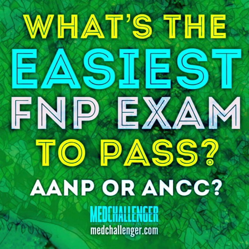 what's the easiest FNP exam to pass? AANP or ANCC, which his easier?