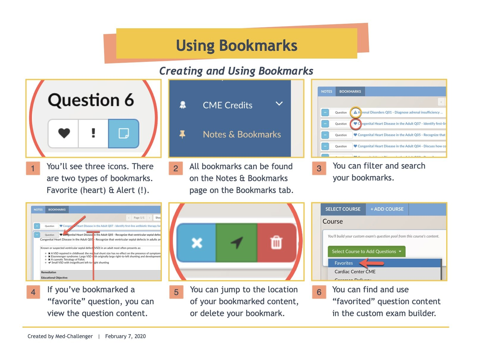Using Bookmarks