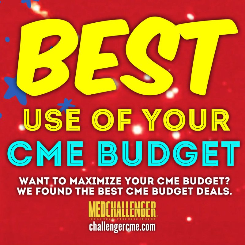 best use of your cme budget - summer cme sale and cme deals