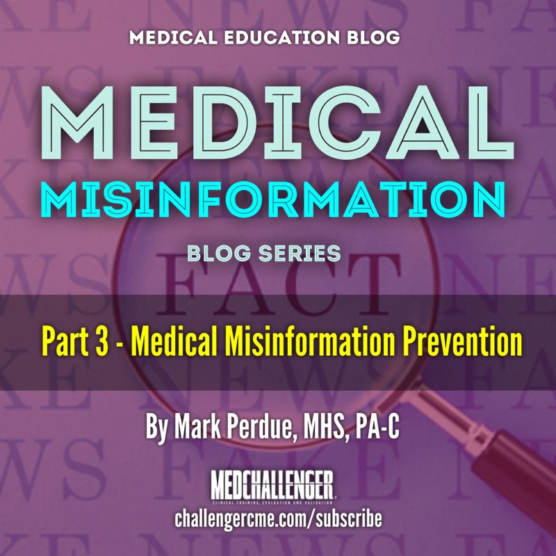 Medical misinformation prevention strategies - how to counteract medicine misinformation