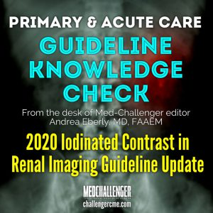 iodinated contrast guideline update