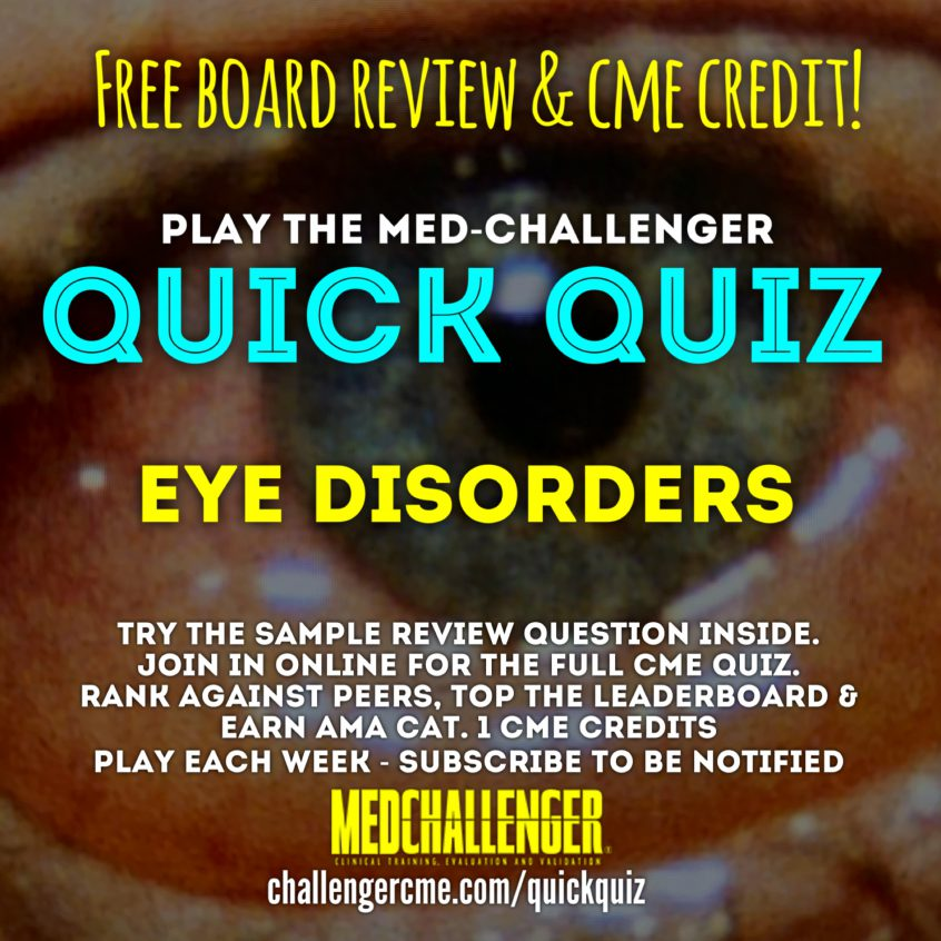 eye disorders quick quiz