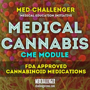 medical cannabis cme course - FDA approved cannabinoid medications