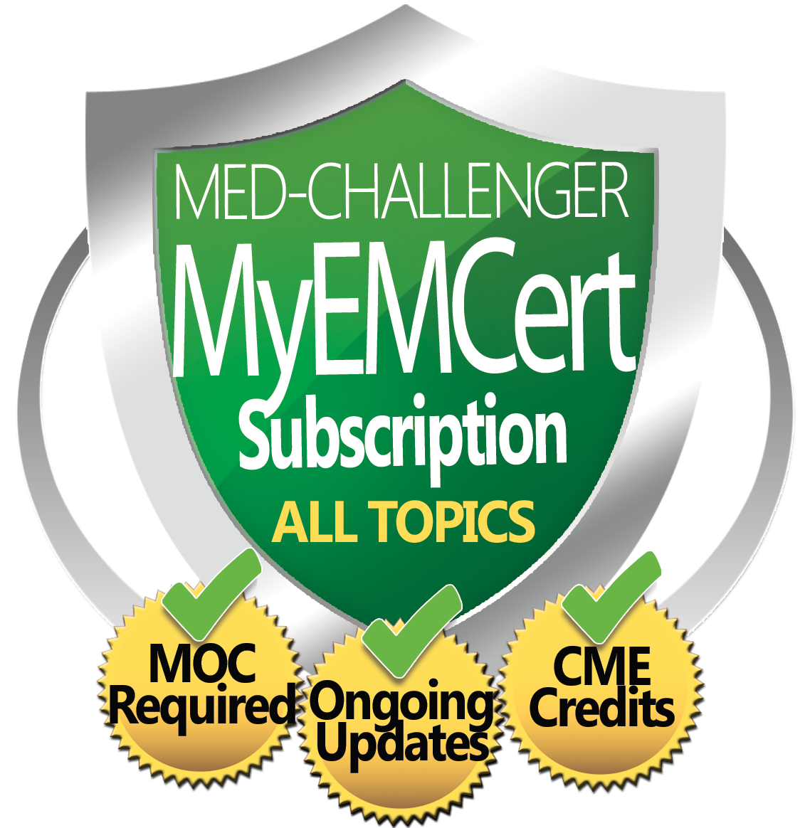 ABEM MyEMCert Subscription Module Content Collection - Open-book Exam Searchable Reference Package