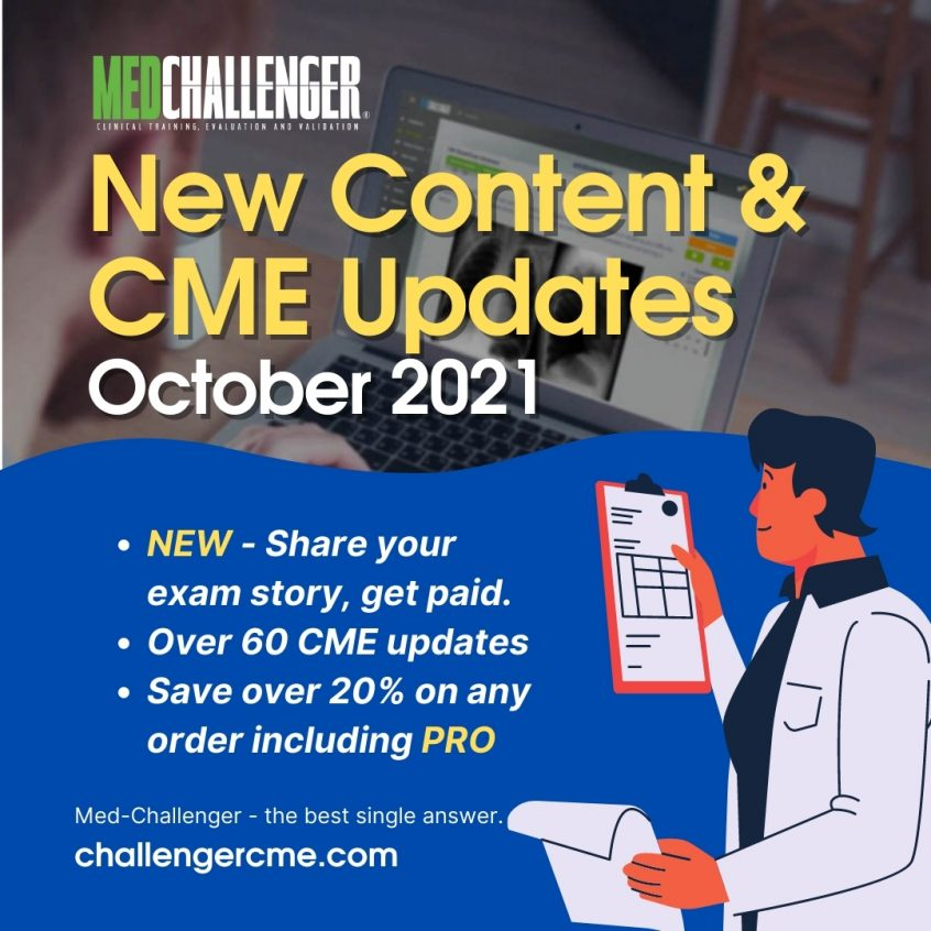 October 2021 CME Updates - Board Review and CME Offers