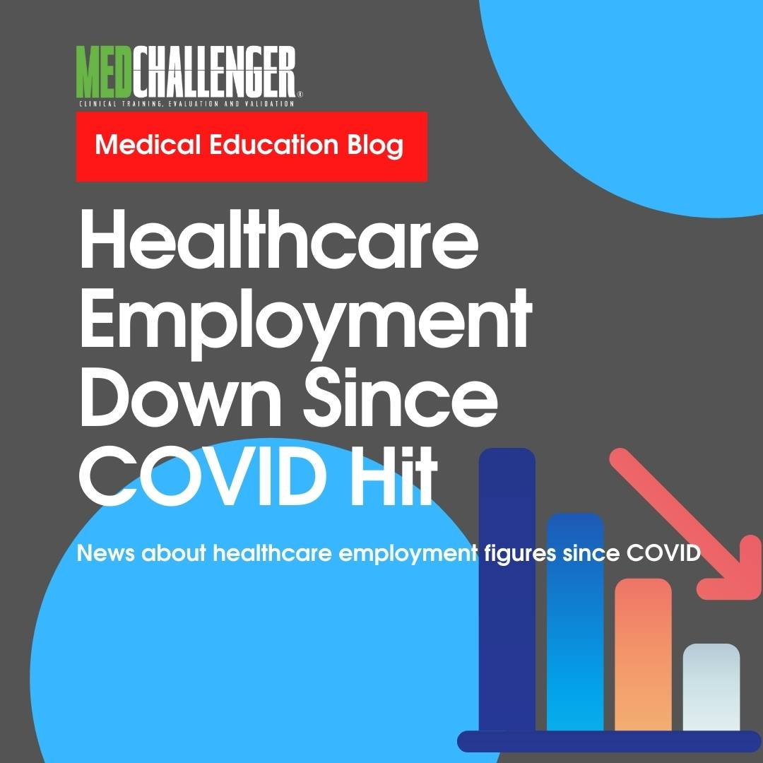 """Featured image for """"Healthcare Employment Down 524,000 Since COVID Hit"""""""