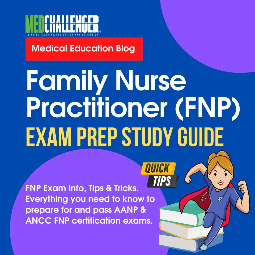 """Featured image for """"2021 Family Nurse Practitioner Exam Prep Guide: How To Prepare for and Pass the FNP Exam"""""""